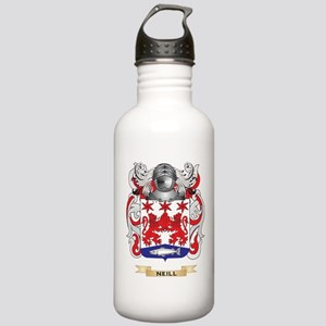 Neill Coat of Arms (Family Crest) Water Bottle