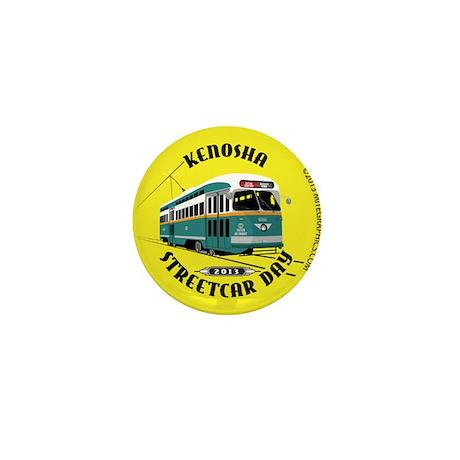 Kenosha Streetcar Day 2013 Mini Button (100 pack)