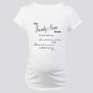1 Peter 4:8 Maternity T-Shirt