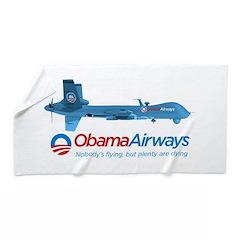 Obama Airways Beach Towel