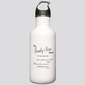 1 Peter 4:8 Stainless Water Bottle 1.0L