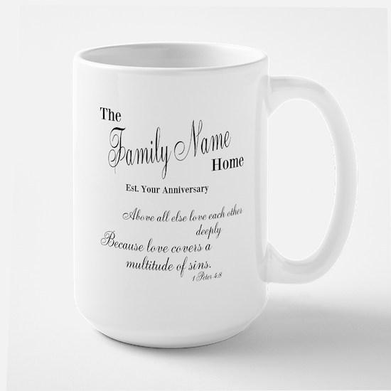 1 Peter 4:8 Large Mug