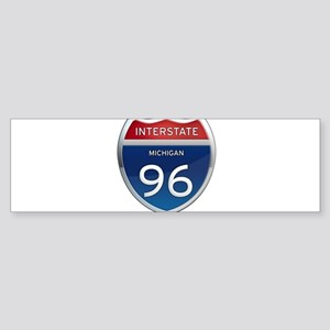 Michigan Interstate 96 Bumper Sticker