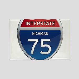Michigan Interstate 75 Magnets