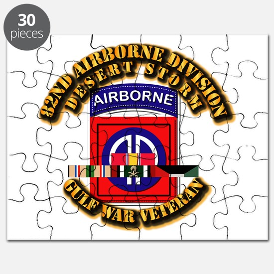 Army - DS - 82nd ABN DIV w SVC Puzzle