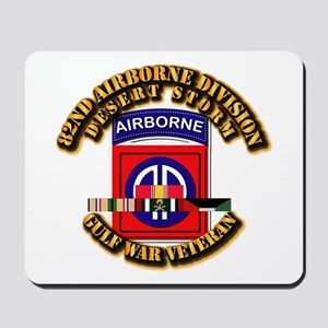 Army - DS - 82nd ABN DIV w SVC Mousepad