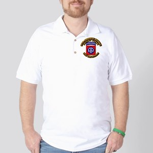 Army - DS - 82nd ABN DIV - DS Golf Shirt