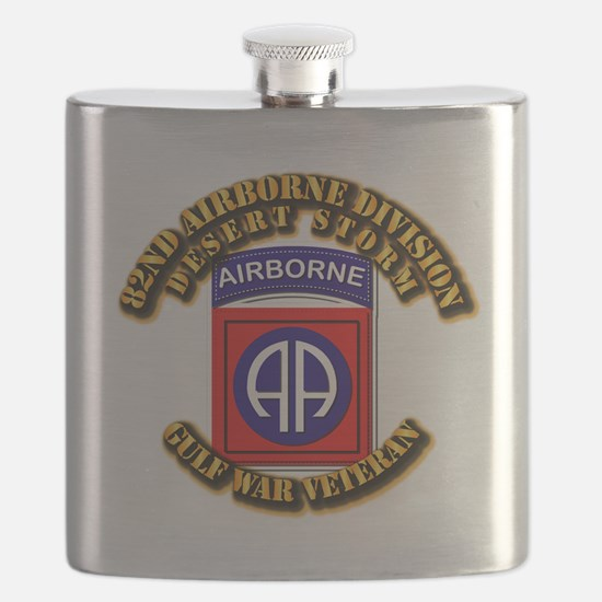 Army - DS - 82nd ABN DIV - DS Flask