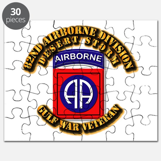 Army - DS - 82nd ABN DIV - DS Puzzle
