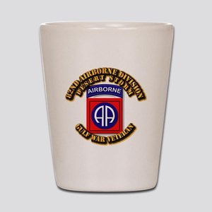 Army - DS - 82nd ABN DIV - DS Shot Glass
