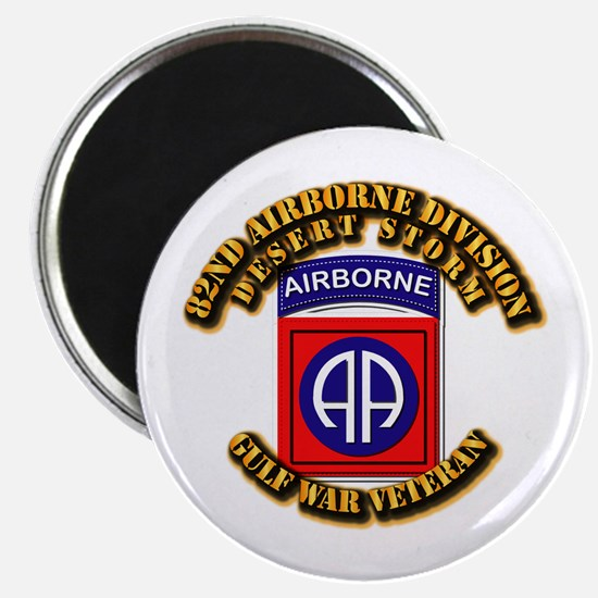Army - DS - 82nd ABN DIV - DS Magnet