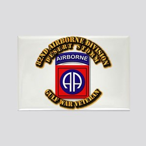 Army - DS - 82nd ABN DIV - DS Rectangle Magnet