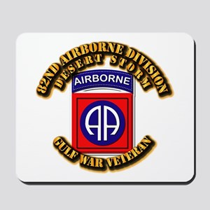Army - DS - 82nd ABN DIV - DS Mousepad