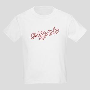 ENGLAND graffiti text Kids Light T-Shirt