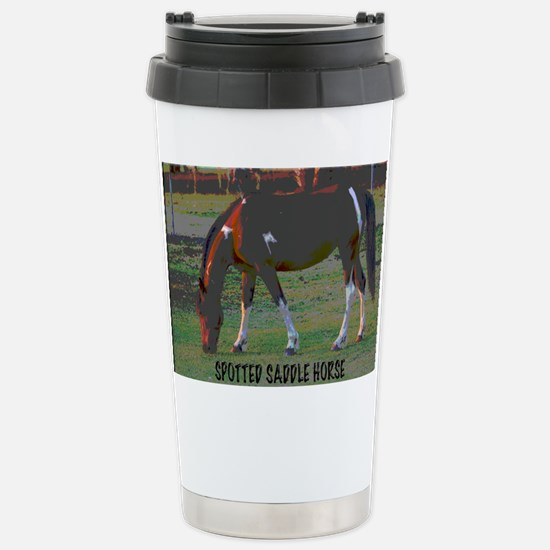 Cute Spotted saddle horses Travel Mug