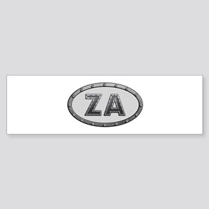 ZA Metal Bumper Sticker 10 Pack
