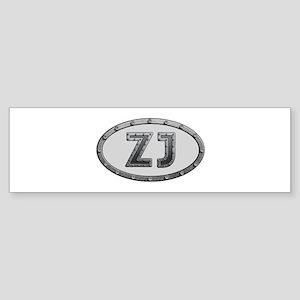 ZJ Metal Bumper Sticker 10 Pack