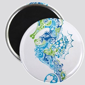 Fancy Seahorse Magnets