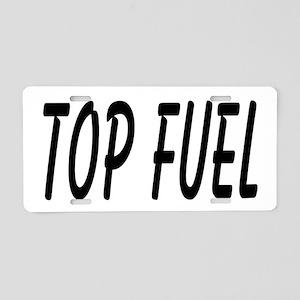 Top Fuel Aluminum License Plate