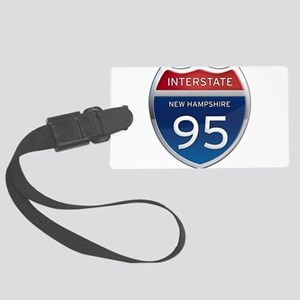 New Hampshire Interstate 95 Luggage Tag