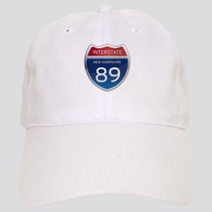 New Hampshire Interstate 89 Baseball Cap