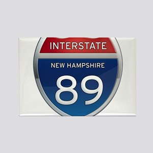 New Hampshire Interstate 89 Magnets