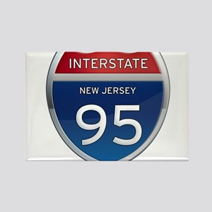 New Jersey Interstate 95 Magnets