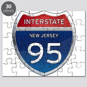 New Jersey Interstate 95 Puzzle