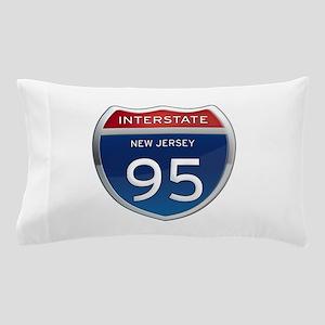 New Jersey Interstate 95 Pillow Case