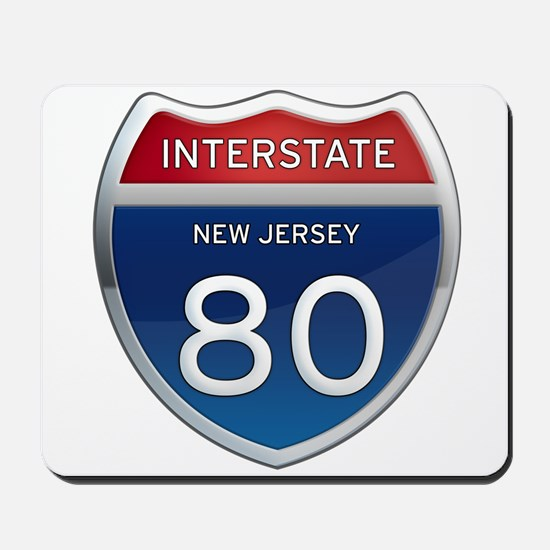 New Jersey Interstate 80 Mousepad