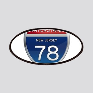 New Jersey Interstate 78 Patches