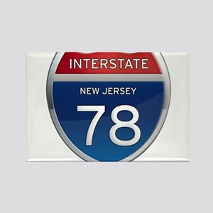 New Jersey Interstate 78 Magnets