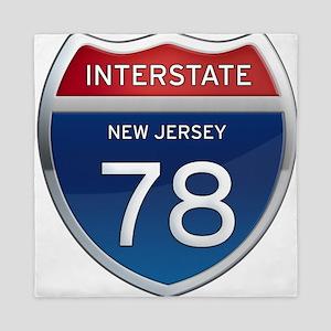 New Jersey Interstate 78 Queen Duvet