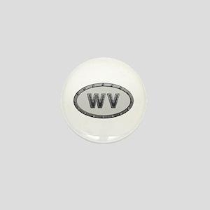 WV Metal Mini Button