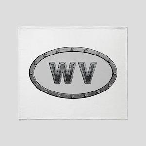 WV Metal Throw Blanket
