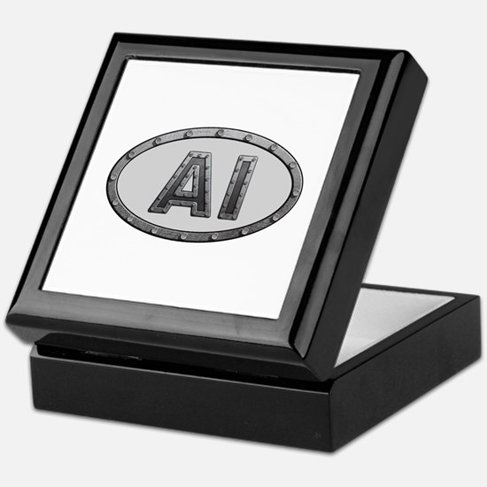 AI Metal Keepsake Box