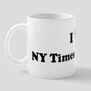 I Love NY Times Bestseller Mug