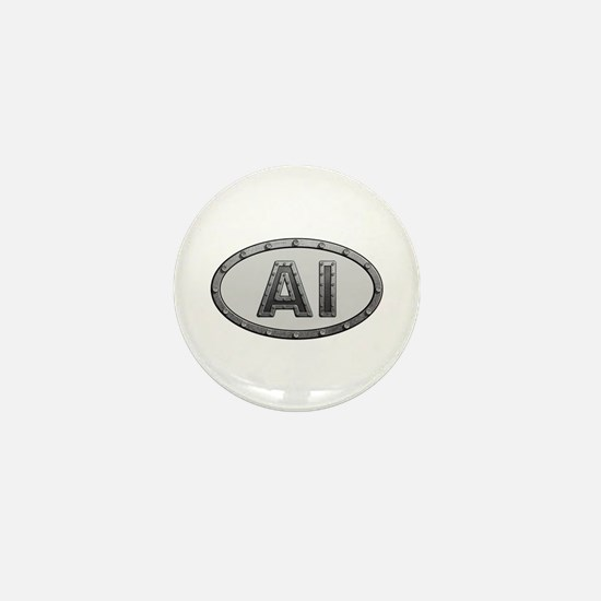 AI Metal Mini Button