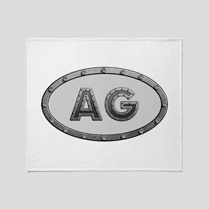 AG Metal Throw Blanket