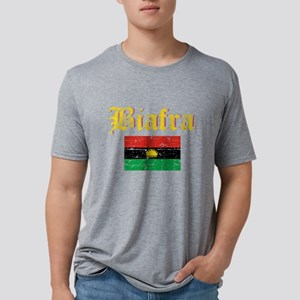 Biafra Flag Mens Tri-blend T-Shirt