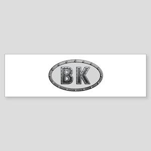 BK Metal Bumper Sticker