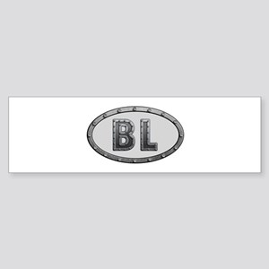 BL Metal Bumper Sticker
