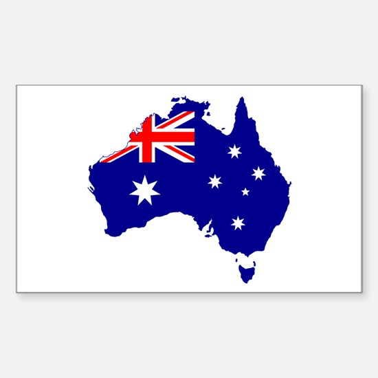 Australia Flag Decal