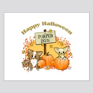 Chihuahua Halloween Small Poster