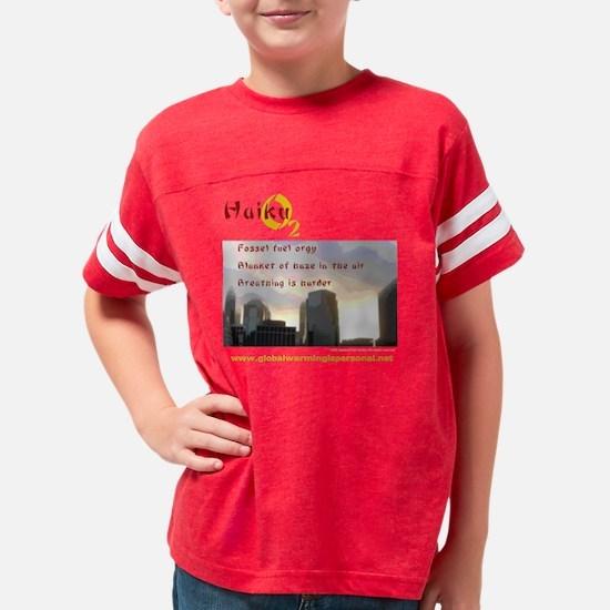 10x10_apparel_haiku_smog_blk Youth Football Shirt