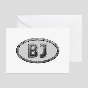 BJ Metal Greeting Card