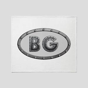 BG Metal Throw Blanket