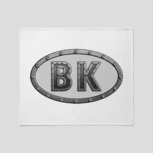 BK Metal Throw Blanket