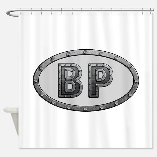 BP Metal Shower Curtain