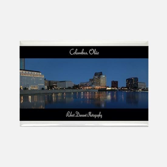Columbus Ohio Skyline Magnets